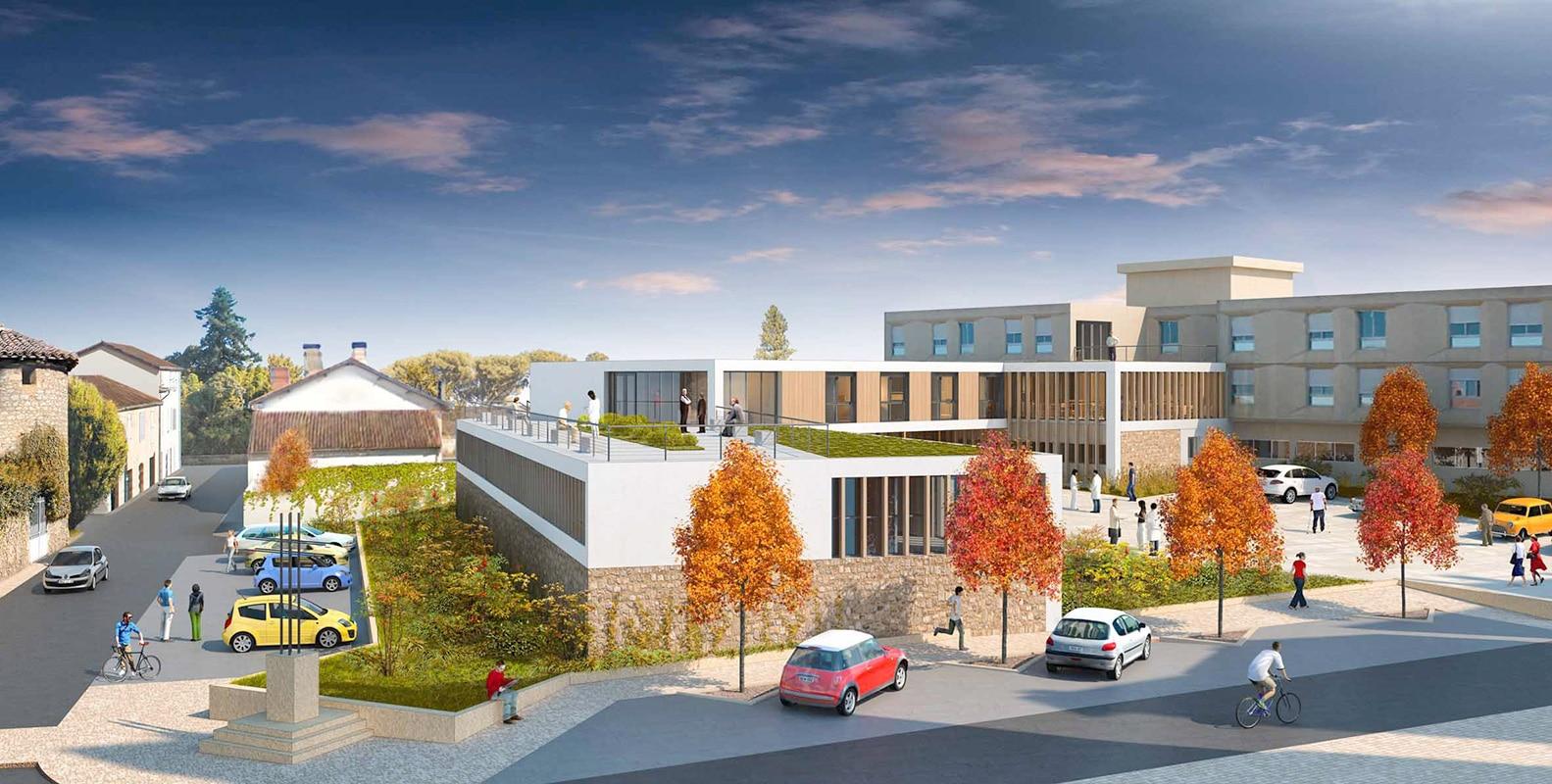 Centre Hospitalier à Saint Sever